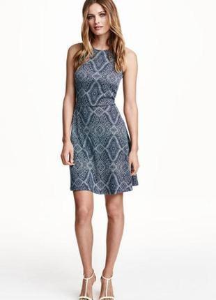 Платье новое стильное оригинал h&m xl