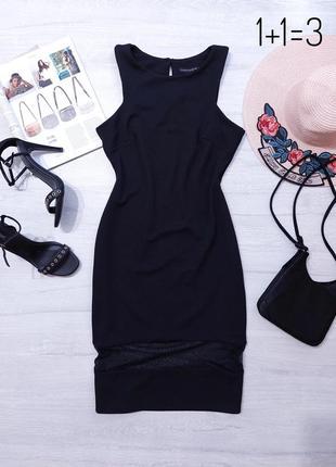 Atm вечернее черное платье s-m футляр миди по фигуре классика строгое чехол фактурное