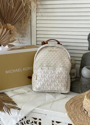 Рюкзак michael kors white