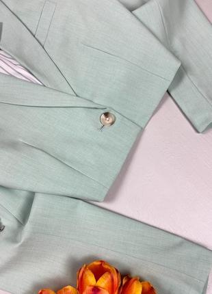 Базовый укороченный пиджак bershka3 фото