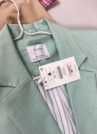 Базовый укороченный пиджак bershka5 фото