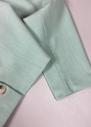 Базовый укороченный пиджак bershka4 фото