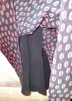 Платье шифоновое на одно плечо ,бюстье mango xs7 фото