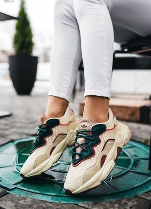 💕 женские кроссовки adidas ozweego5 фото