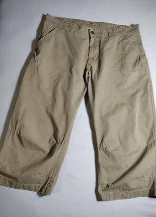 Стильные мужские легкие коттоновые штаны капри бриджи от hattric. германия.