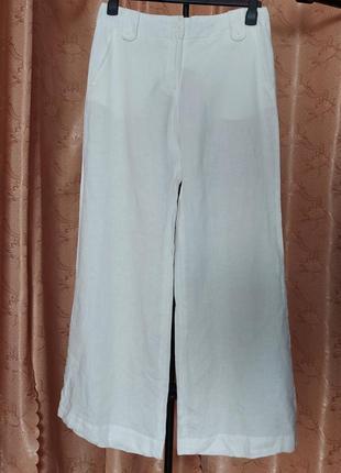 Kookai штаны лен размер 42 палаццо