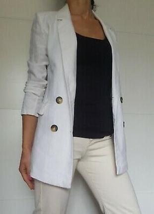 Жакет пиджак льняной amisu