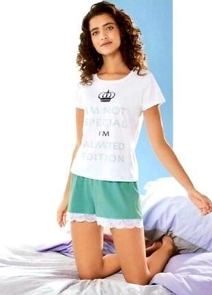Комплект для дома, отдыха, сна. пижама esmara