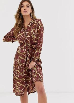 Платье рубашка na-kd. сукня сорочка
