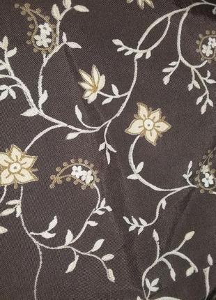 Платье цветочный принт винтаж7 фото