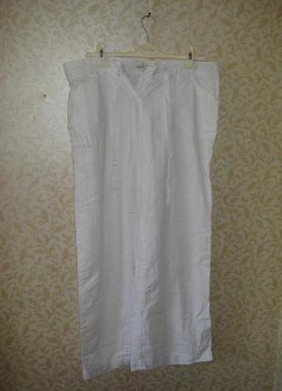 Штаны -брюки широкие, свободные, палаццо высокая  посадка. next. р-50-52( 44 евро)1 фото