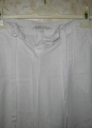 Штаны -брюки широкие, свободные, палаццо высокая  посадка. next. р-50-52( 44 евро)2 фото