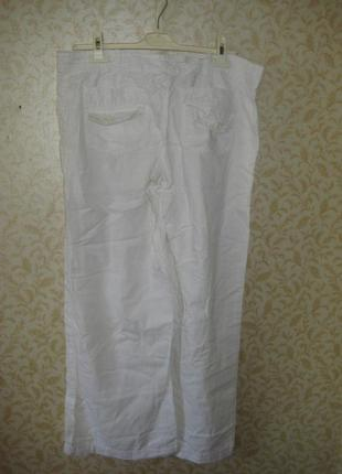 Штаны -брюки широкие, свободные, палаццо высокая  посадка. next. р-50-52( 44 евро)3 фото