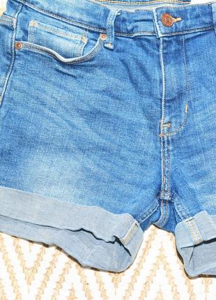 Новые голубые шорты h&m5 фото