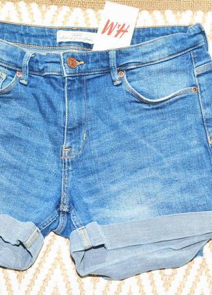 Новые голубые шорты h&m4 фото