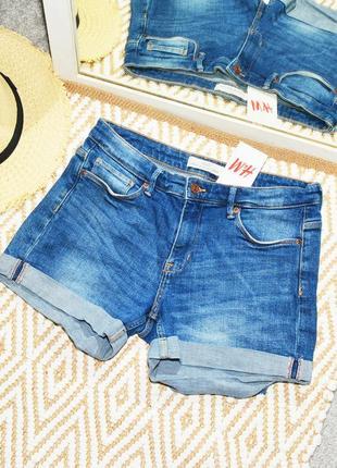 Новые голубые шорты h&m1 фото