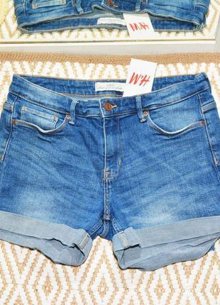 Новые голубые шорты h&m6 фото