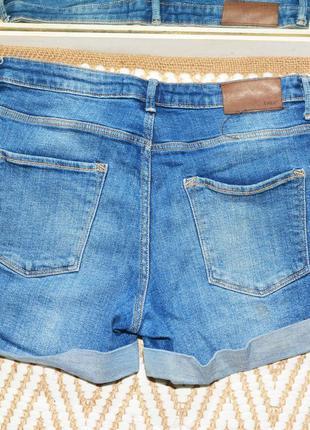 Новые голубые шорты h&m8 фото
