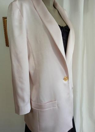 Розовый пиджак 48-50 /frank usher /