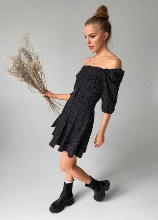 Платье в горох1 фото