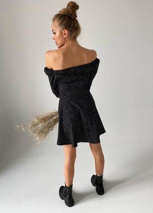 Платье в горох6 фото