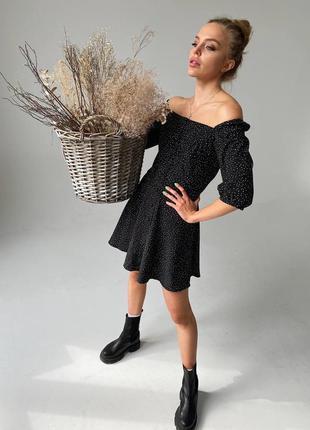 Платье в горох4 фото