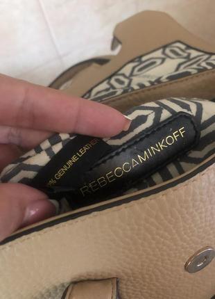 Кожаная сумка rebecca minkoff7 фото