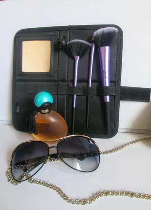 Профессиональный набор кисточек для макияжа в футляре(3шт) miomare (germany)