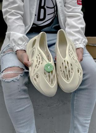 Стильные мужские летние сандали босоножки adidas yeezy  foam rnnr sand