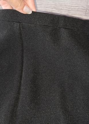 Стильна чорна спідниця 40 грн. розпродаж3 фото