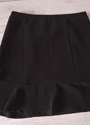 Стильна чорна спідниця 40 грн. розпродаж4 фото