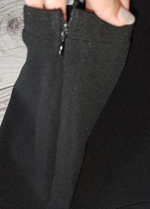 Стильна чорна спідниця 40 грн. розпродаж5 фото