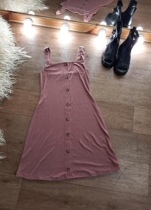 Платье миди сарафан 42-441 фото