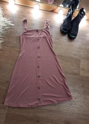 Платье миди сарафан 42-442 фото