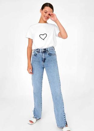 👑 белая футболка с принтом7 фото