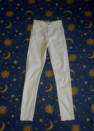 Брюки белые,штаны белые,белые джинсы,штаны на худенькую девочку,штаны маленького размера,штаны с высокой посадкой