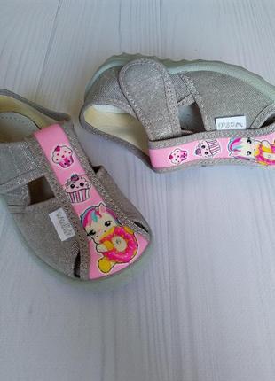 Тапочки waldi для девочки