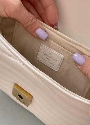 Маленькая белая сумка клатч с кошельком длинная ручка2 фото