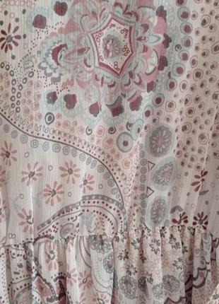 Прекрасное нежное платье макси6 фото
