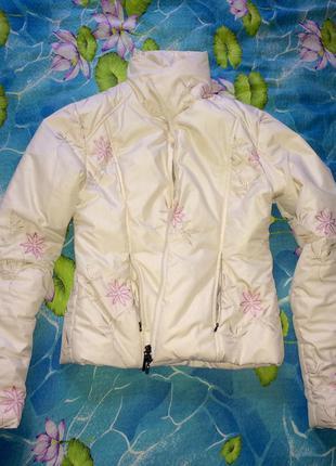 Куртка esprit натуральный пух