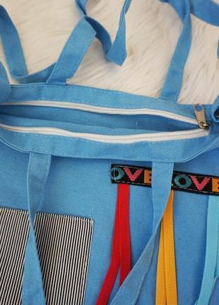 🔥🔥🔥сумка тканевая шоппер, сумка из ткани3 фото