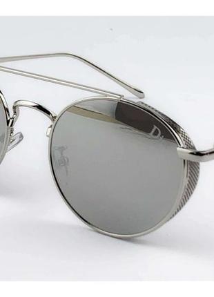 Распродажа 🔥🔥🔥трендовые круглые солнцезащитные очки зеркальные