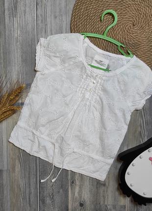 Воздушная лёгкая  блузочка футболочка h&m