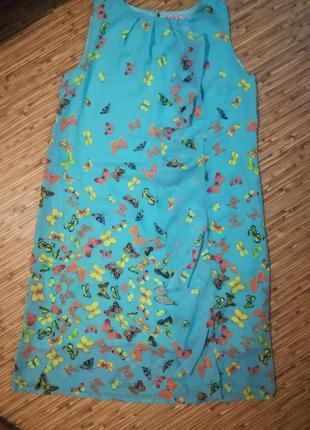 Платье летнее бабочки2 фото