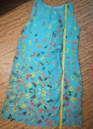 Платье летнее бабочки6 фото