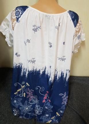 Блуза,легкая,летняя,яркая,модная4 фото
