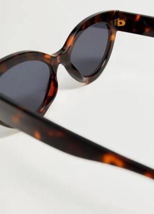 """Солнцезащитные очки """"кошачий глаз"""",  манго5 фото"""