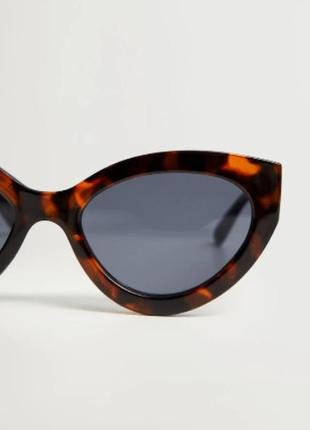 """Солнцезащитные очки """"кошачий глаз"""",  манго4 фото"""