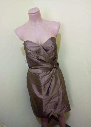 Шыкарное платье из 100% шелка