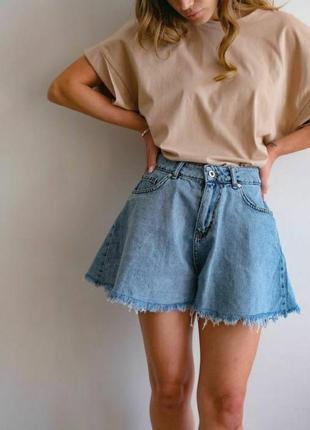 Шорты джинсовые1 фото